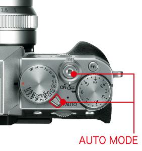 FUJIFILM X-T20オートモードを選ぶと適切なシーンに合わせて撮影できる