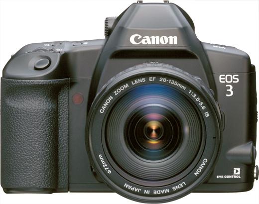 キヤノンEOS3(フィルムカメラ)