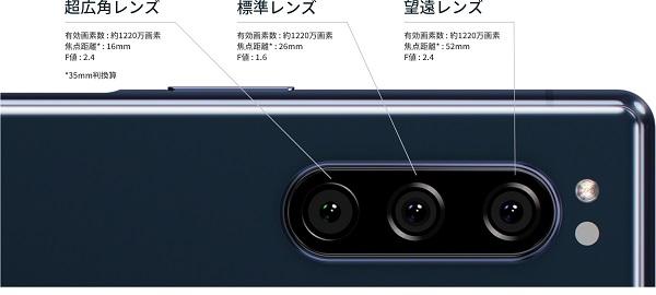 広角と標準と望遠という3つのカメラで使い分けが出来る